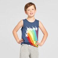 Colt Boys V-Neck Hulk Print Tshirt